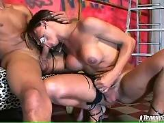 Tgirl Welcomes Guy`s Thick Cock 2