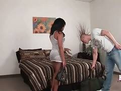 Sexy T-Ebony Tanisha And Tough Guy Fall In Passion 1