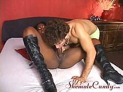 shemale candy - Karoline Nogueira and Felix Stuhlbach